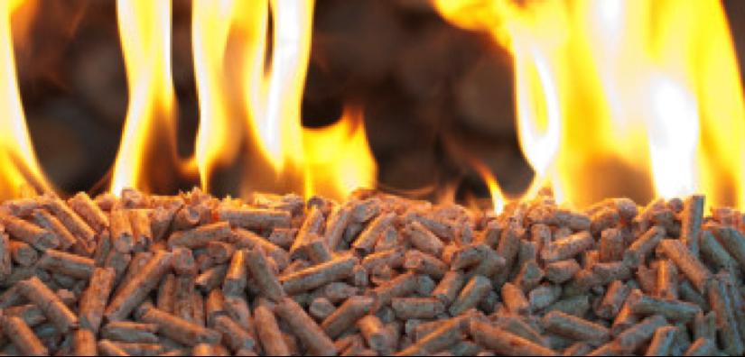 pelletsburning